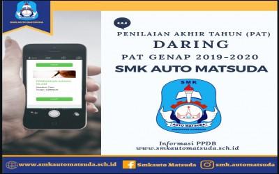 Jadwal Daring PAT SMK Auto Matsuda