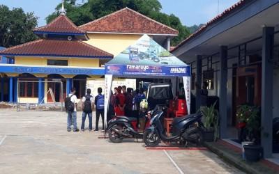 TBSM SMK Auto Matsuda Menyelenggarakan Service Gratis.