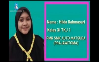 Ajak gemar cuci tangan, Hilda Ekstrakulikuler PMR SMK Auto Matsuda rilis video kreatif