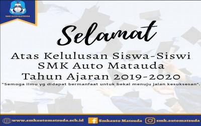 SMK Auto Matsuda Umumkan Kelulusan Secara Daring, Siswa Dilarang Konvoi.