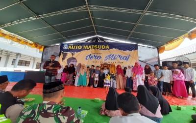 SMK Auto Matsuda Gelar Isra Mi'raj, Do'a Bersama dan Santunan Anak Yatim