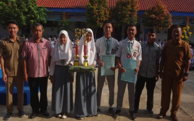 SMK Auto Matsuda Raih Juara III O2SN Tingkat Nasional