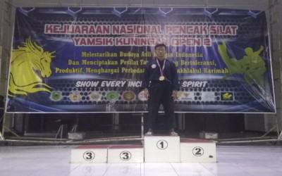 Siswa SMK Auto Matsuda Raih Medali Emas Dalam Kejuaraan Nasional Pencak Silat Yamsik Kuningan Open 2